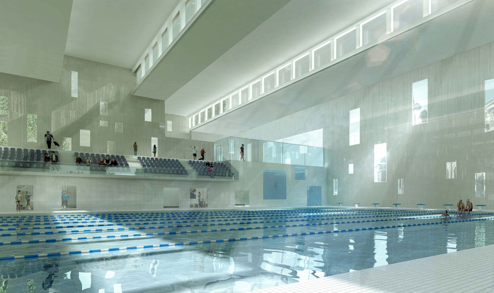 Piscine olympique mikou studio for Piscine tourcoing horaires
