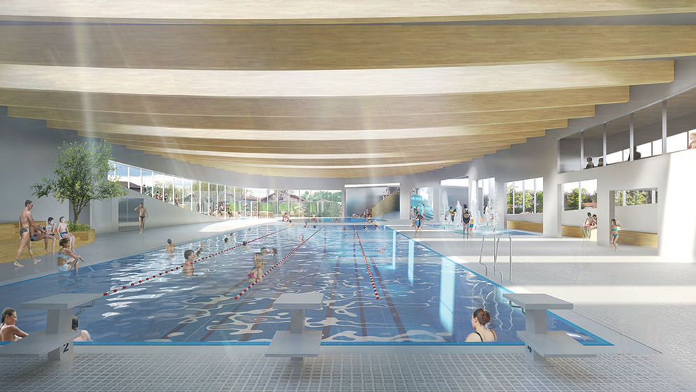 Piscine mikou studio for Piscine issy les moulineaux