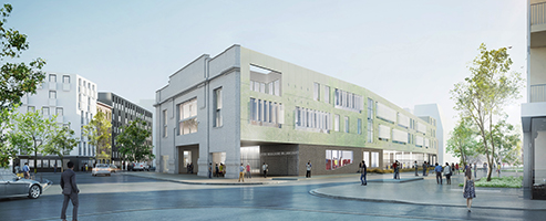 The Highschoolu0027s Project In Boulogne Billancourt, France